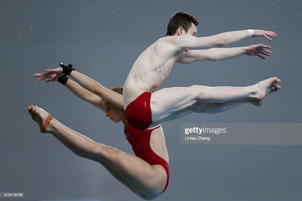 FINA/NVC Diving World Series 2016 - Day 3 : News Photo