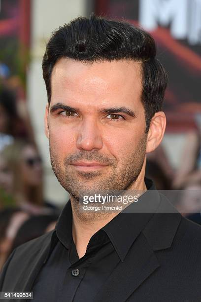Benjamin Ayres arrives at the 2016 iHeartRADIO MuchMusic Video Awards at MuchMusic HQ on June 19, 2016 in Toronto, Canada.
