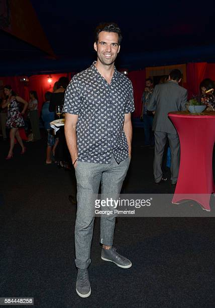 """Benjamin Ayres attends the opening of Cirque Du Soleil's """"Luzia"""" at Port Lands on July 28, 2016 in Toronto, Canada."""