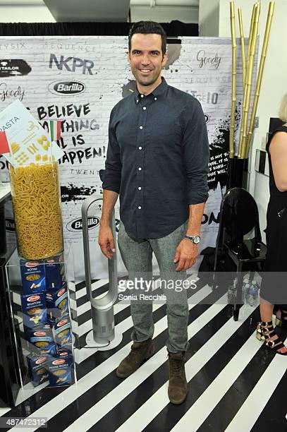 Benjamin Ayres attends W Magazine NKPR IT Lounge Studio day 1 during the 2015 Toronto International Film Festival at TIFF Bell Lightbox on September...