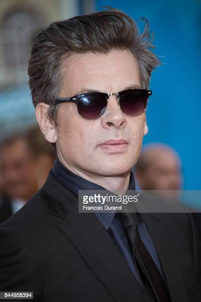 Benjamin Biolay arrives at the closing ceremony of the 43rd Deauville American Film Festival on September 9 2017 in Deauville France