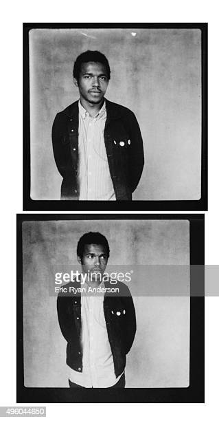 Benjamin Booker poses for a portrait at the Governors Ball 2015 Music Festival for Billboard Magazine on June 6 2015 in New York City