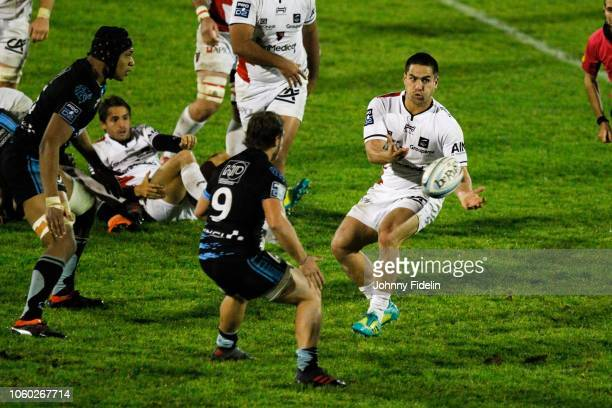 Benjamin Botica of Oyonnax during the Pro D2 match between Massy and Oyonnax on November 9 2018 in Massy France