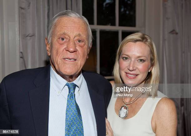 Benjamin Bradlee and Lee Woodruff during a Book Launch Cocktail Party at a Private Residence on May 4 2009 in Washington DC
