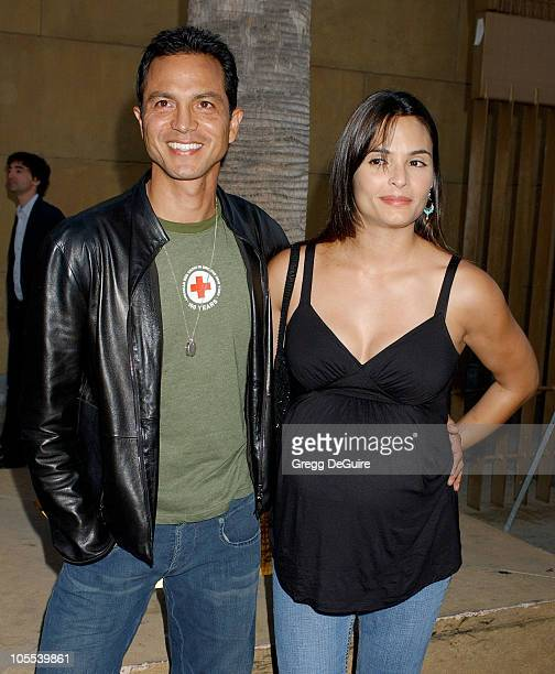 Benjamin Bratt and Talisa Soto during Thumbsucker Los Angeles Premiere Arrivals at Egyptian Theatre in Hollywood California United States