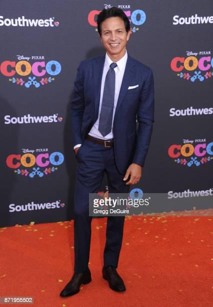 Benjamin Bratt arrives at the premiere of Disney Pixar's 'Coco' at El Capitan Theatre on November 8 2017 in Los Angeles California