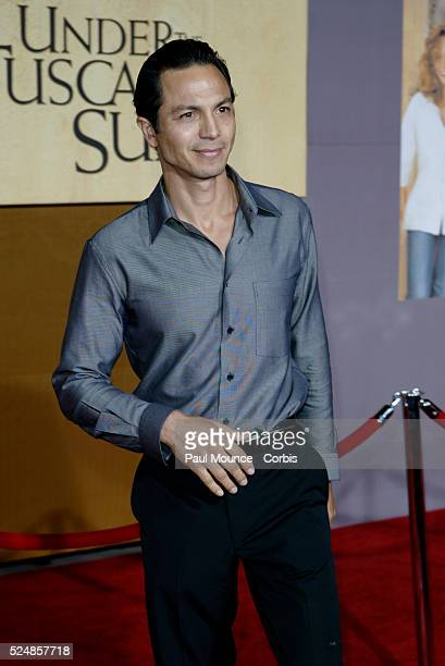 Benjamin Bratt arrives at the world premiere of Under the Tuscan Sun at the El Capitan Theater