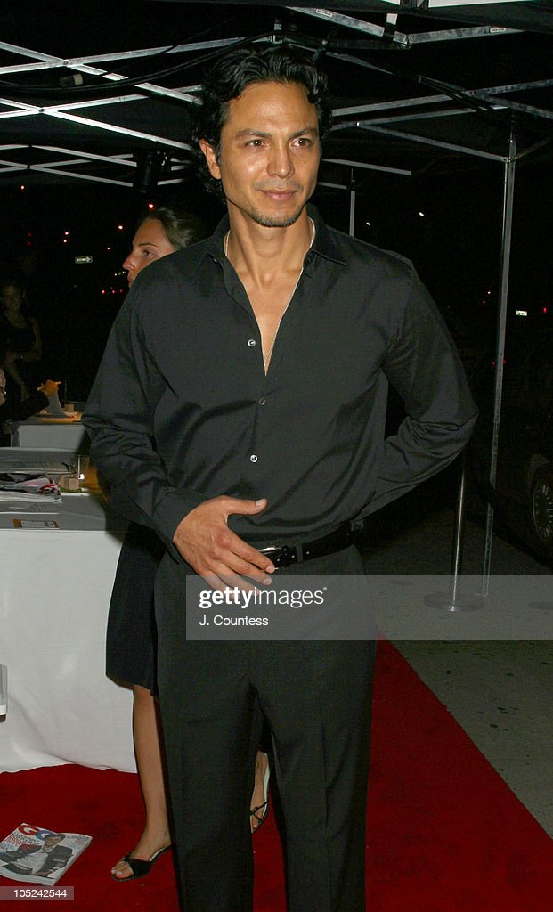 Benjamin Bratt during GQ Celebrates September Debut Issue Under New Editor and Chief Jim Nelson at Hudson Studios in New York, New York, United States.