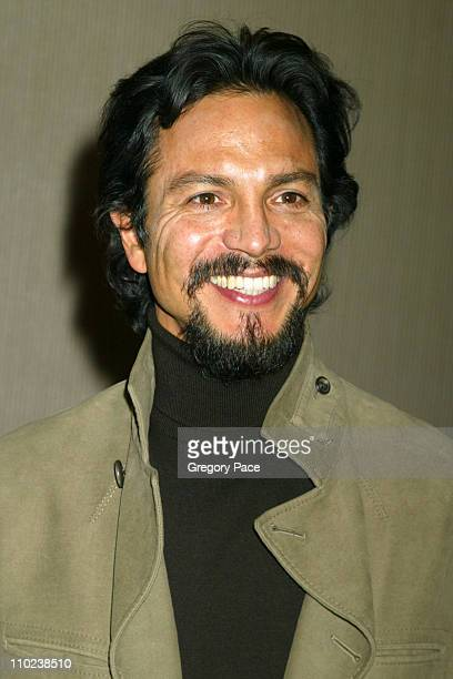 """Benjamin Bratt during """"The Woodsman"""" New York Cit y Premiere - Inside Arrivals at The Skirball Center in New York City, New York, United States."""