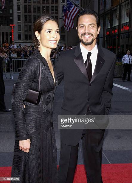 Benjamin Bratt from NBC show Law Order with wife Talisa Soto
