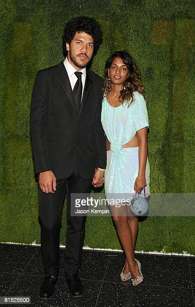 Benjamin Brewer and musician MIA attend the 40th Annual Museum of Modern Art's Party in the Garden at the Abby Aldrich Rockefeller Sculpture Garden...