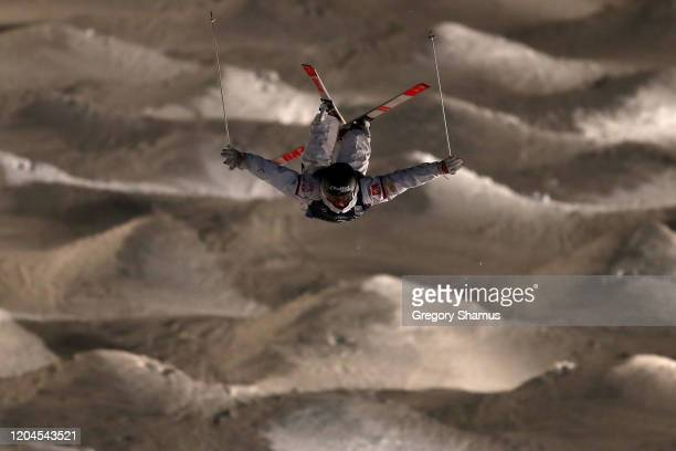 Benjamin Cavet of France competes in the Mens Moguls Final at the FIS Freestyle World Cup on February 06 2020 in Park City Utah