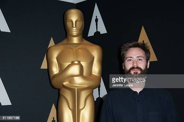 Benjamin Cleary arrives at the 88th Annual Academy Awards Oscar Week Celebrates Shorts at the AMPAS Samuel Goldwyn Theater on February 23, 2016 in...