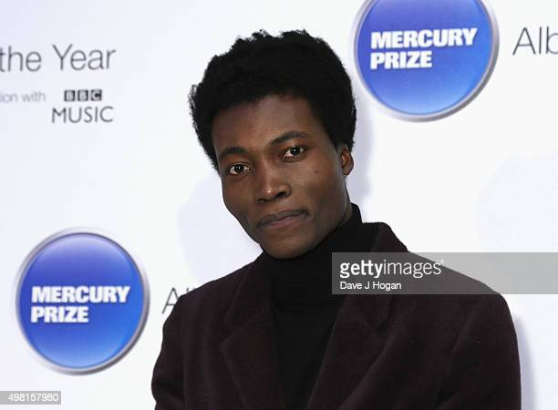 Benjamin Clementine attends the Mercury Prize at BBC Radio Theatre on November 20 2015 in London England