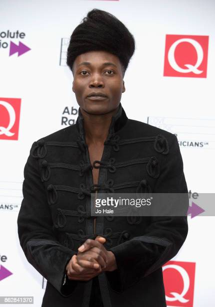 Benjamin Clementine attends the Q Awards 2017 in association with Absolute Radio at The Roundhouse on October 18 2017 in London England