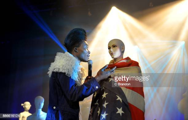 Benjamin Clementine perform at Brixton Academy on December 5 2017 in London England