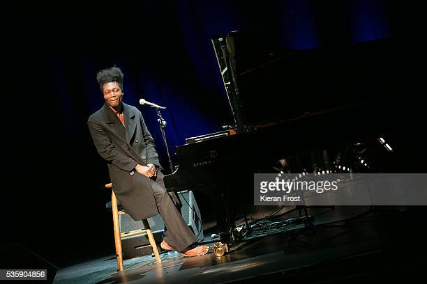 Benjamin Clementine performs at the Olympia Theatre on May 30 2016 in Dublin Ireland