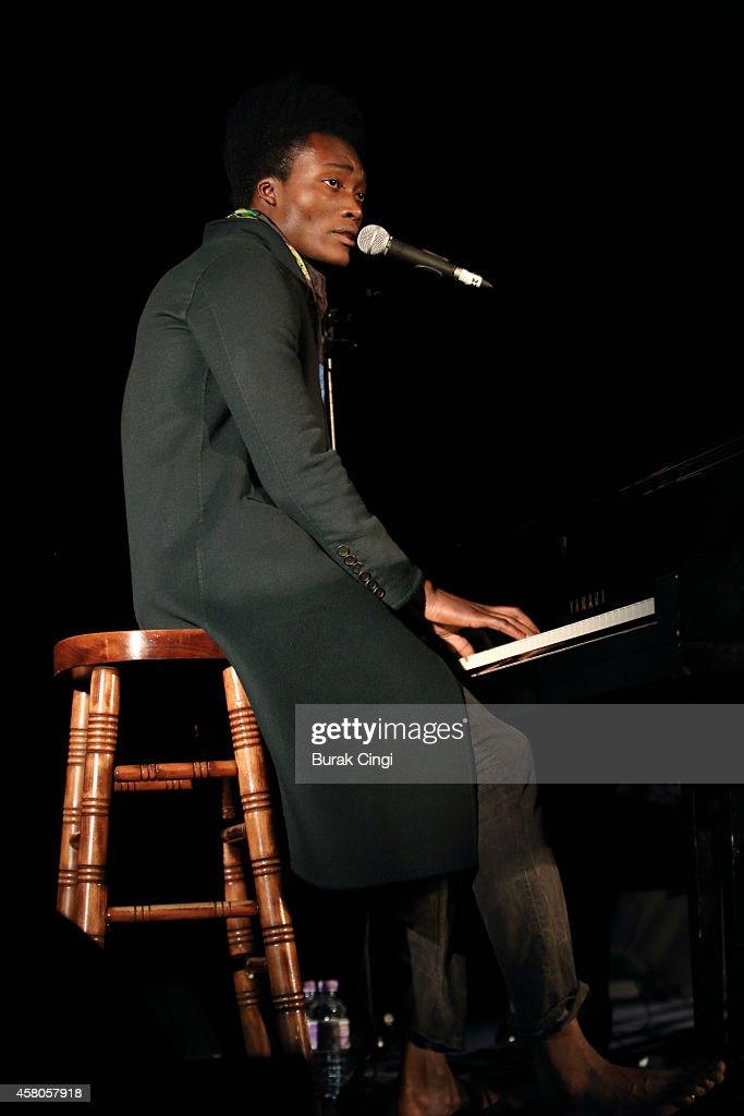 Benjamin Clementine Performs At Emmanuel Centre London