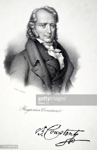 Benjamin Constant born HenriBenjamin Constant de Rebecque Swissborn French aristocrat novelist and political philosopher An intimate of Germain de...