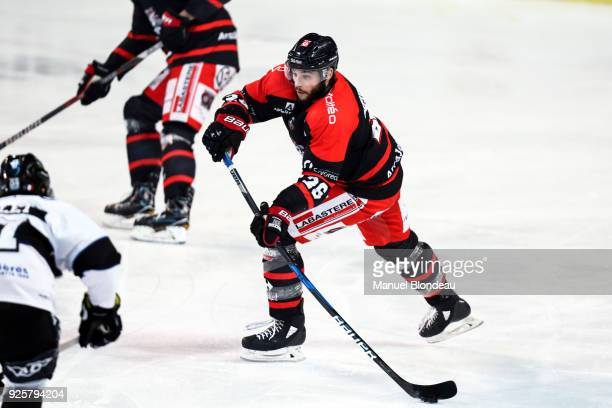 Benjamin Dieude Fauvel of Bordeaux during the Magnus League Playoff match between Bordeaux and Gap on February 28 2018 in Bordeaux France
