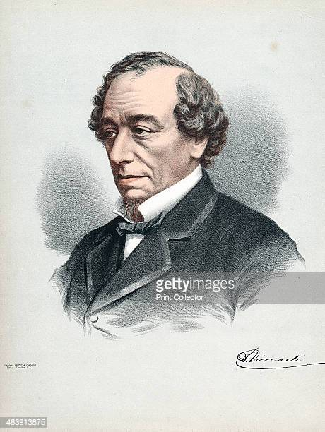 Benjamin Disraeli 1st Earl of Beaconsfield British Conservative statesman c1880 Disraeli was twice Prime Minister of Britain first in 1868 and then...