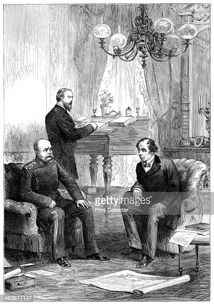 Benjamin Disraeli meeting with Otto von Bismarck Berlin 1878