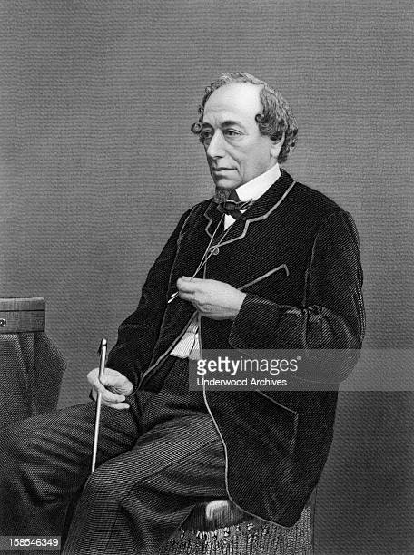 Benjamin Disraeli Prime Minister of Great Britain and Conservative statesman England circa 1870