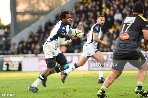 Benjamin Fall of Montpellier during the Top 14 match between La Rochelle and Montpellier on December 2 2017 in La Rochelle France