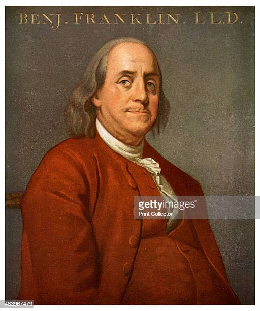 Benjamin Franklin American scientist and politician 1782 Franklin was a member of the committee which drafted the Declaration of Independence in 1776...