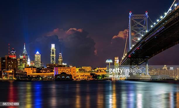 Benjamin Franklin Bridge, Philadelphia, America