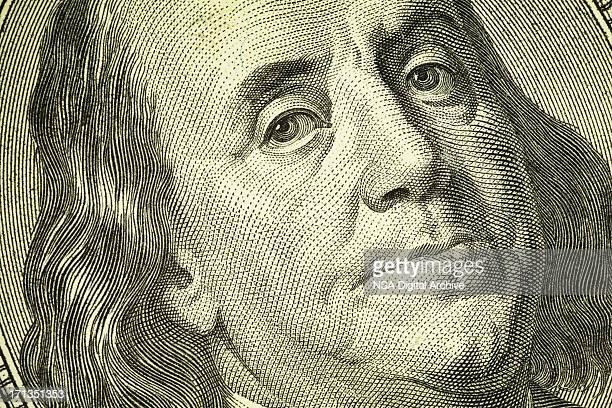 Benjamin Franklin Portrait on One Hundred Dollar Bill | Finance