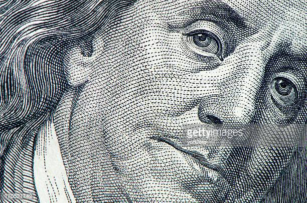 benjamin franklin portrait - illustration stock pictures, royalty-free photos & images