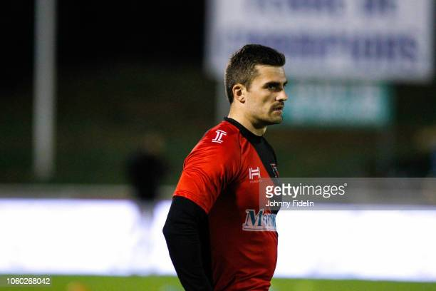 Benjamin Geledan of Oyonnax before the Pro D2 match between Massy and Oyonnax on November 9 2018 in Massy France