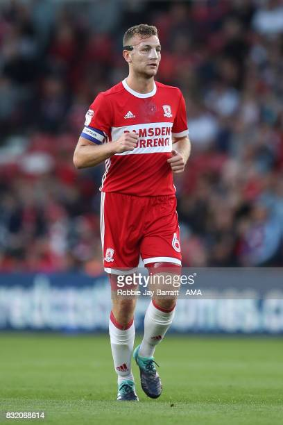 Benjamin Gibson of Middlesbrough during the Sky Bet Championship match between Middlesbrough and Burton Albion at Riverside Stadium on August 15 2017...