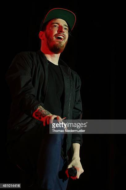 Benjamin Griffey of Casper performs on day 2 at the Southside Festival 2014 on June 21 2014 in Neuhausen Germany
