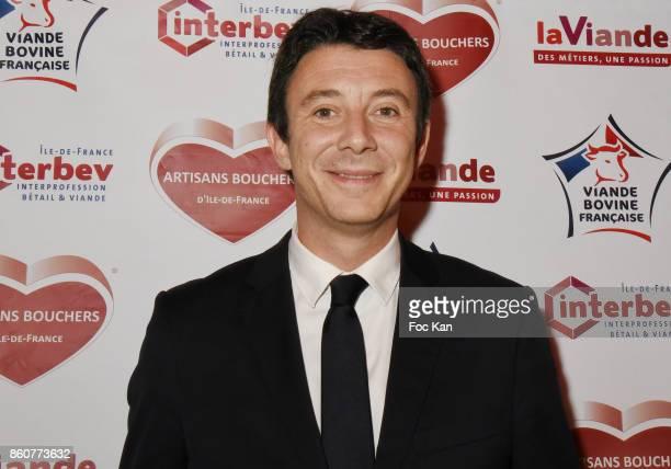 Benjamin Griveaux from LREM attends the 'Boeuf A la Mode' Dinner Hosted by Les Artisans Bouchers de Paris et Ile De France at Le Louchebem on October...