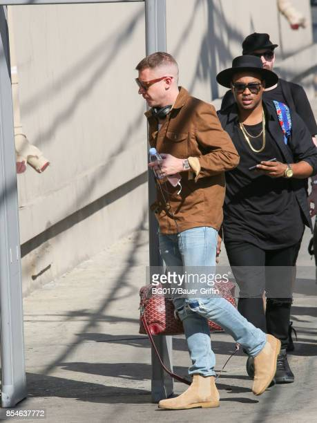 Benjamin Haggerty aka 'Macklemore' is seen at 'Jimmy Kimmel Live' on September 26 2017 in Los Angeles California