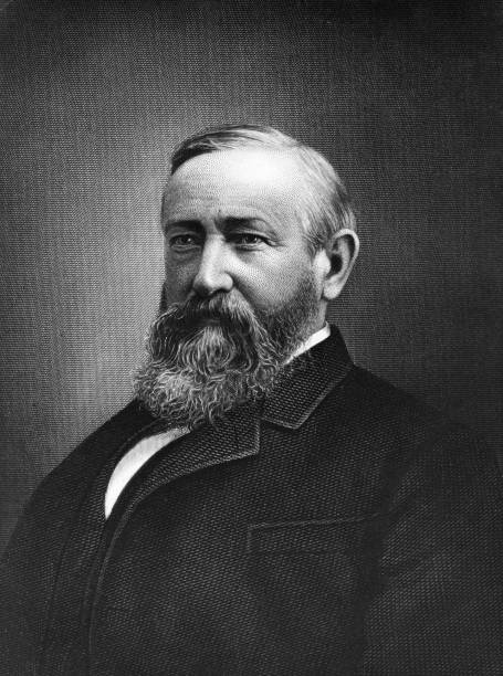 Benjamin Harrison, the 23rd President of the United...