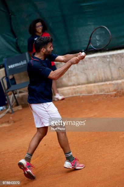 Benjamin Hassan during match between Benjamin Hassan and Agustin Velotti during day 4 at the Internazionali di Tennis Citt dell'Aquila in L'Aquila,...