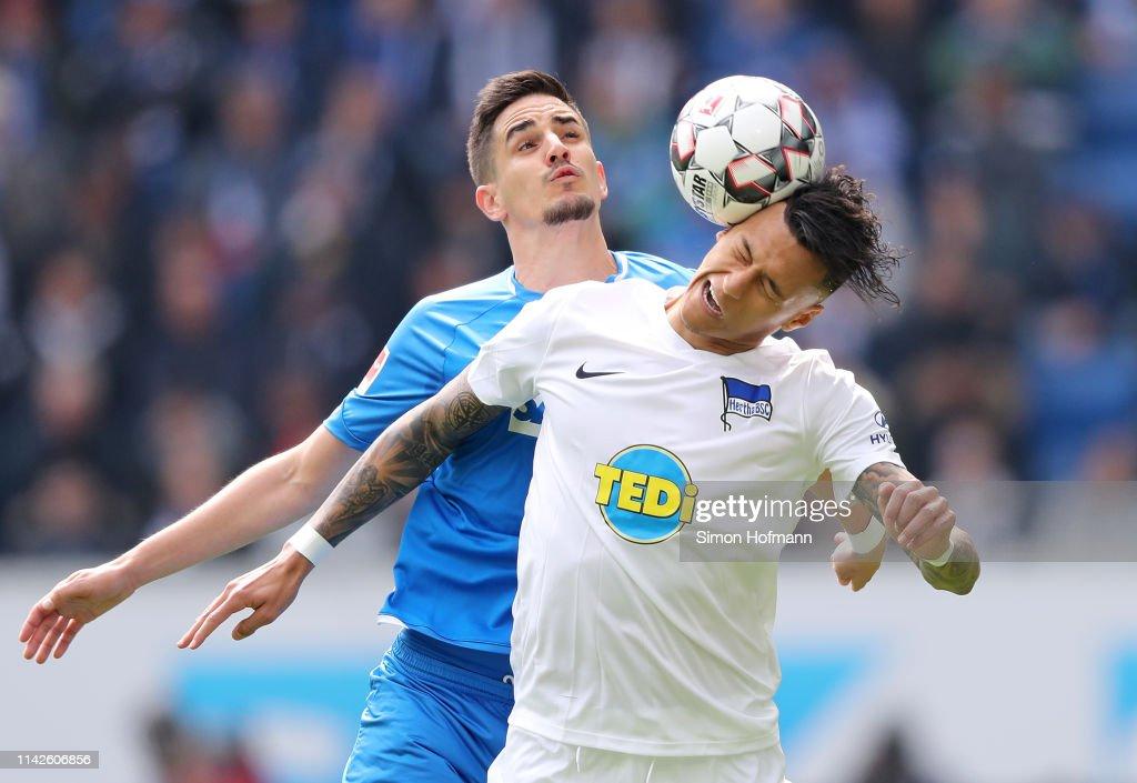 DEU: TSG 1899 Hoffenheim v Hertha BSC - Bundesliga