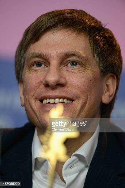 Benjamin Heisenberg attends the 'Superegos' press conference during 64th Berlinale International Film Festival at Grand Hyatt Hotel on February 9...