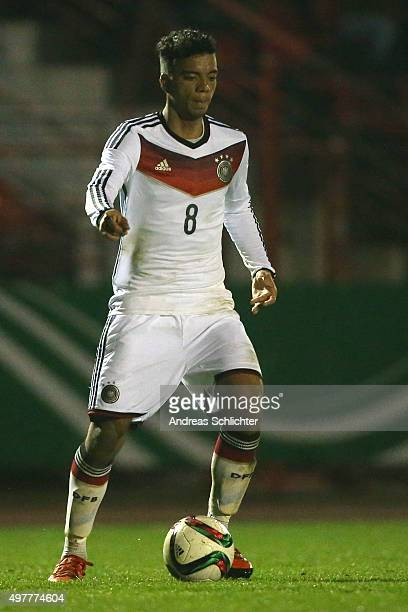 Benjamin Henrichs of Germany during the U19 FourNationsCup Germany vs Sweden on November 13 2015 in Voelklingen Germany