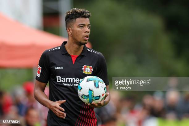 Benjamin Henrichs of Leverkusen looks on during the preseason friendly match between Bayer 04 Leverkusen and Antalyaspor on July 27 2017 in Zell am...