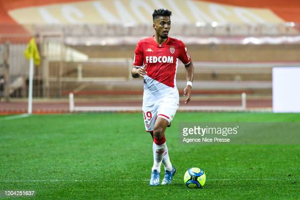 Benjamin HENRICHS of Monaco during the Ligue 1 match between AS Monaco and Stade Reims at Stade Louis II on February 29, 2020 in Monaco, Monaco.