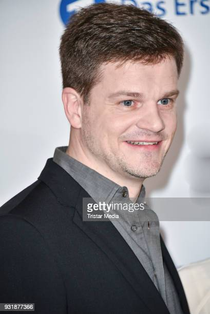 Benjamin Herrmann during the nominees announcement for the Lola German film award at on March 14 2018 in Berlin Germany The German film award will...