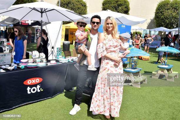 Benjamin Hollingsworth and Nila Myers attend Step2 Presents 7th Annual Celebrity Red CARpet Event by New Bloom Media Benefitting Baby2Baby at Sony...