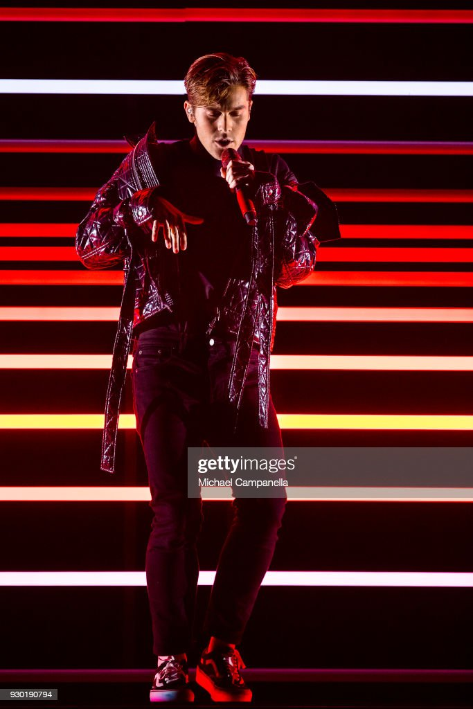 Benjamin Ingrosso Performs The Song Dance You Off During The Grand News Photo Getty Images