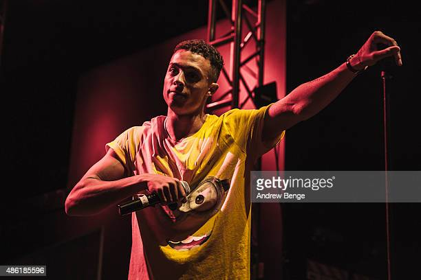Benjamin James of Loudkidz performs on stage at O2 Academy Leeds on September 1, 2015 in Leeds, England.