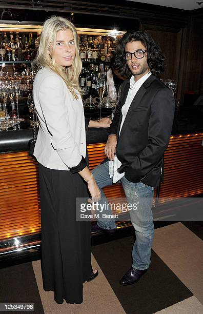 Benjamin Khalili attends a private dinner hosted by Wolfgang Puck his wife Gelila Puck and Charles Finch to celebrate the launch of CUT at 45 Park...