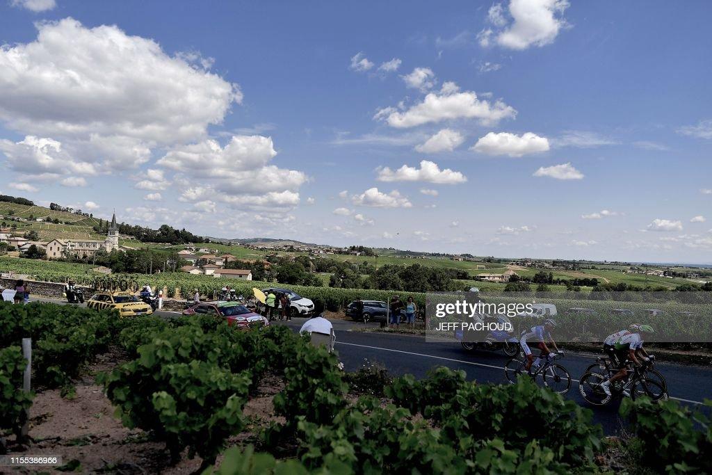 CYCLING-FRA-TDF2019-BREAKAWAY : News Photo